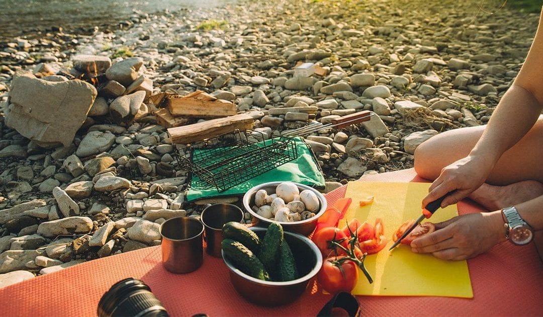 露營時如何食用全植物性全食物