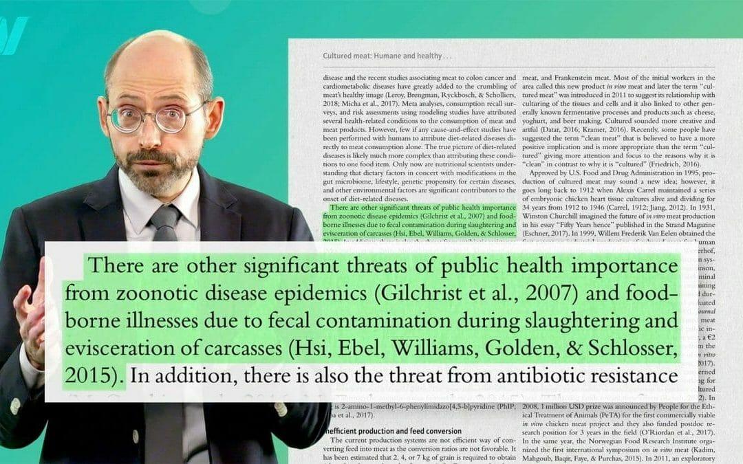 耕肉對人類健康的影響:抗生素耐藥性